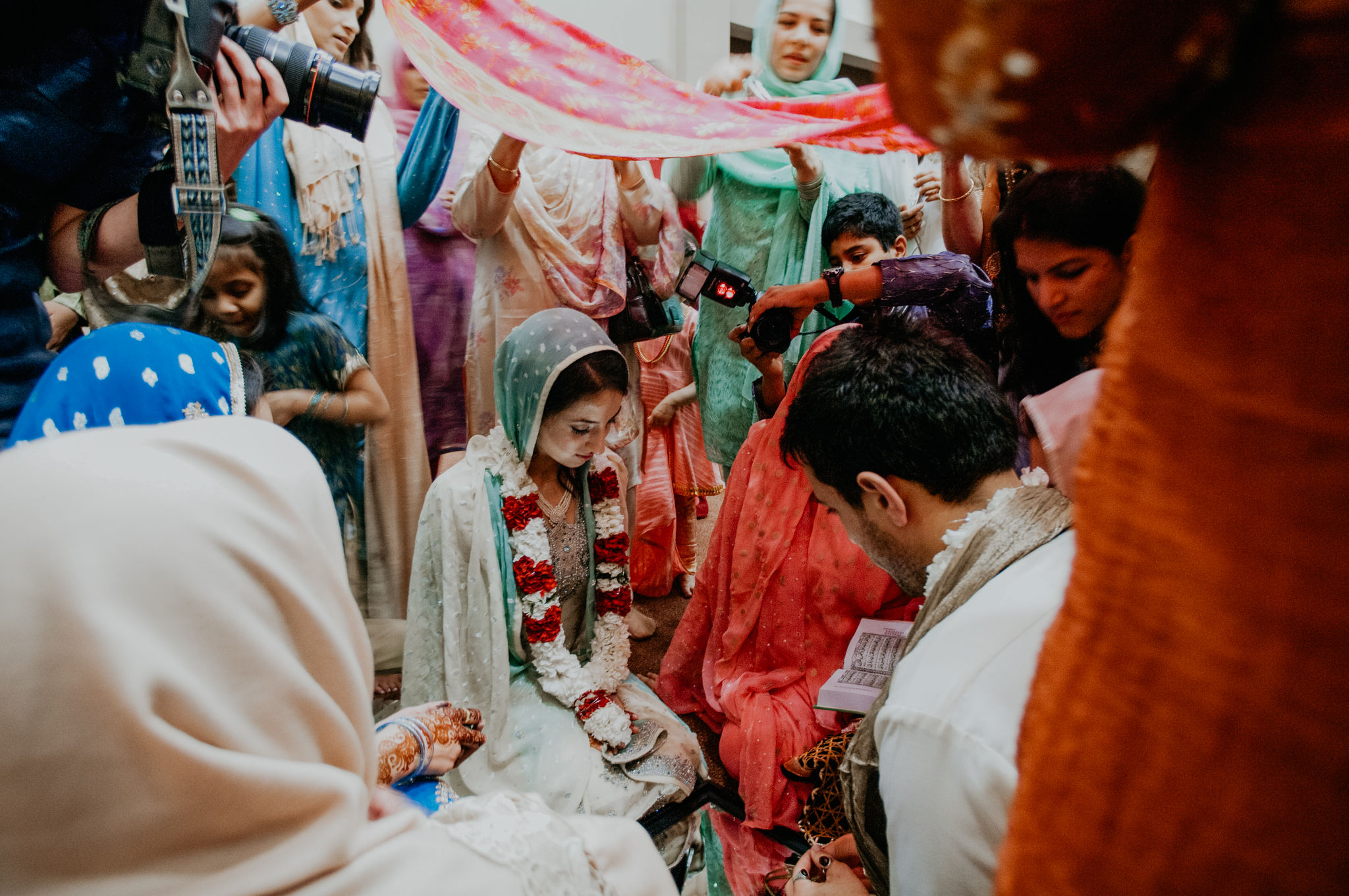 Nikah wedding traditional ceremony
