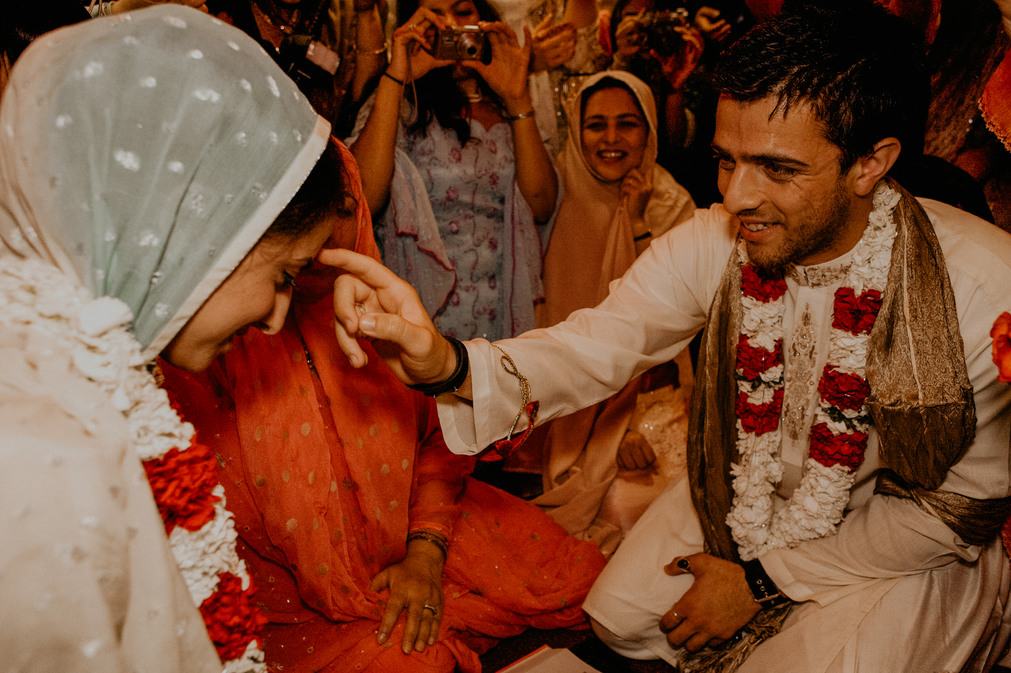 Nikah wedding ceremony MN Indian wedding photographer