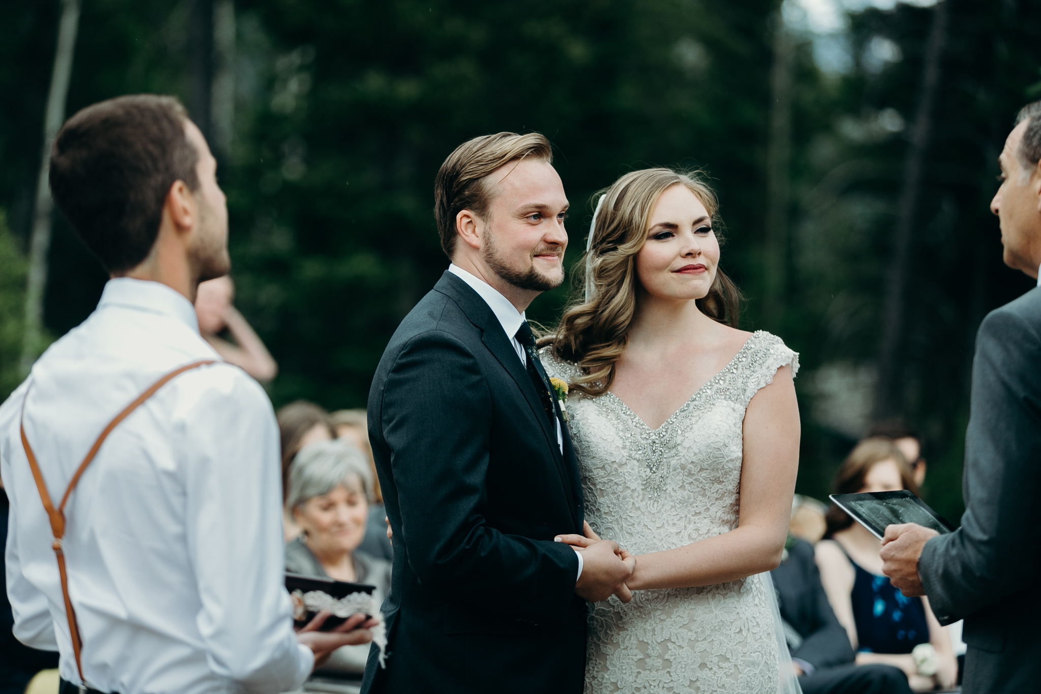 Silvertip Resort wedding ceremony in Canmore Alberta