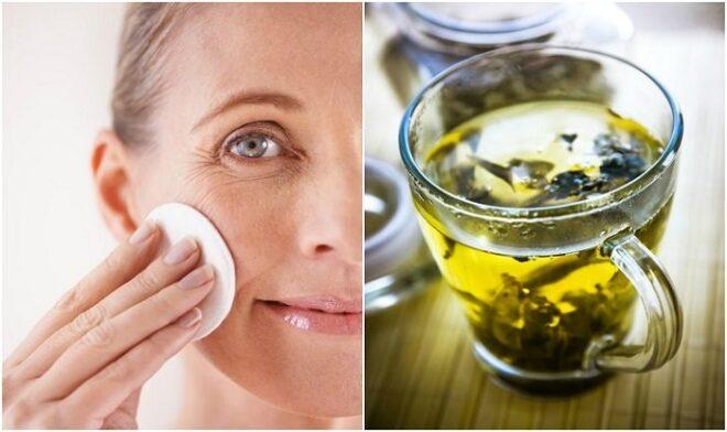 Green tea for skin