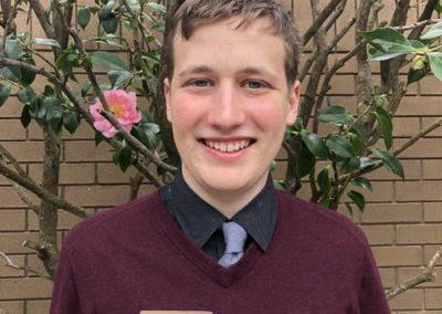 Braeden Camarota Seymour Central Coast finalist 2017-18