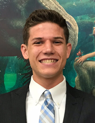 Seymour Central 2019 Finalist Lucca Lorenzi, Golden Valley High School Chapter 1152, Adviser Jennifer Boelter