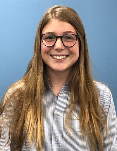 Seymour Central Coast 2018-19 Finalist Lauren McBride, Chapter 898 Aptos High School, Adviser Elva Martin