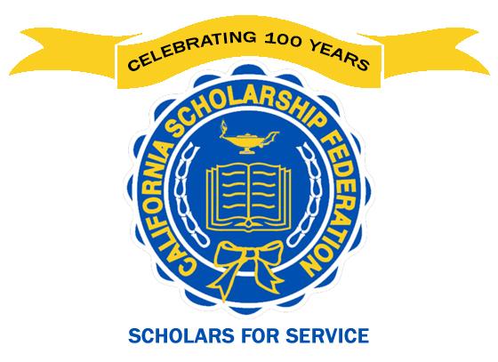 Celebrating 100 years Scholars for Service CSF logo