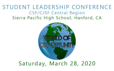 REGISTER NOW STUDENT LEADERSHIP CONFERENCE CENTRAL REGION | MARCH 28, 2020