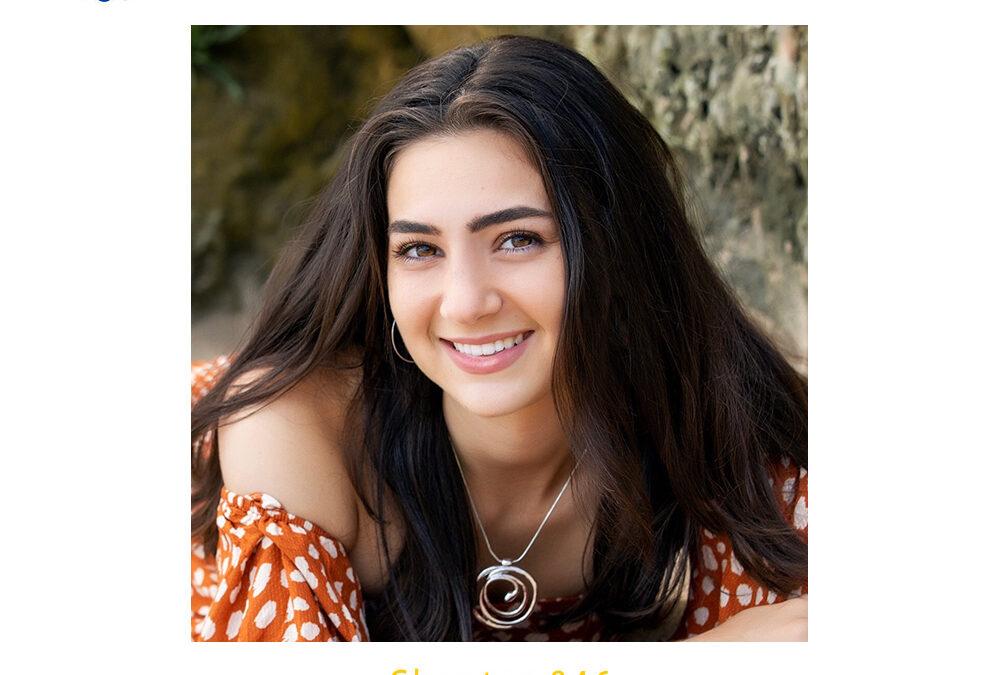 Esperanza Matteucci, 2020 CSF Seymour Award Central Coast Region Finalist