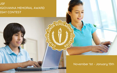CJSF DiGiovanna Award Essay Contest for 2020