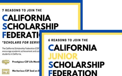 CSF/CJSF Membership Recruiting Posters