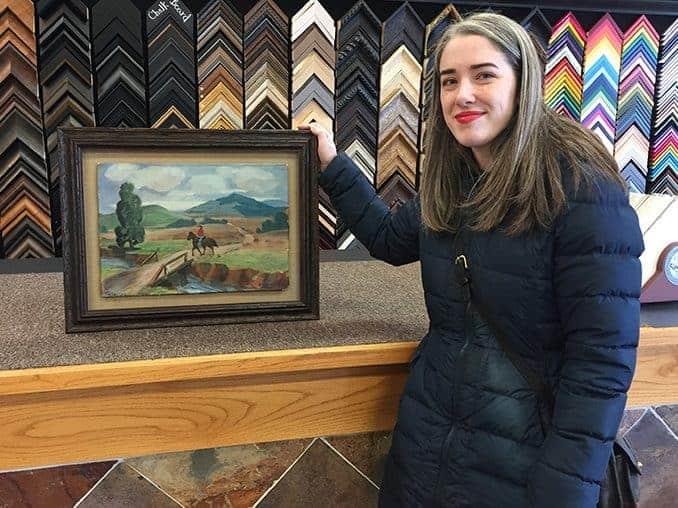 preserving great-grandma's painting