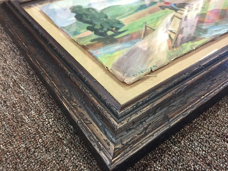 preserving great-grandma's painting