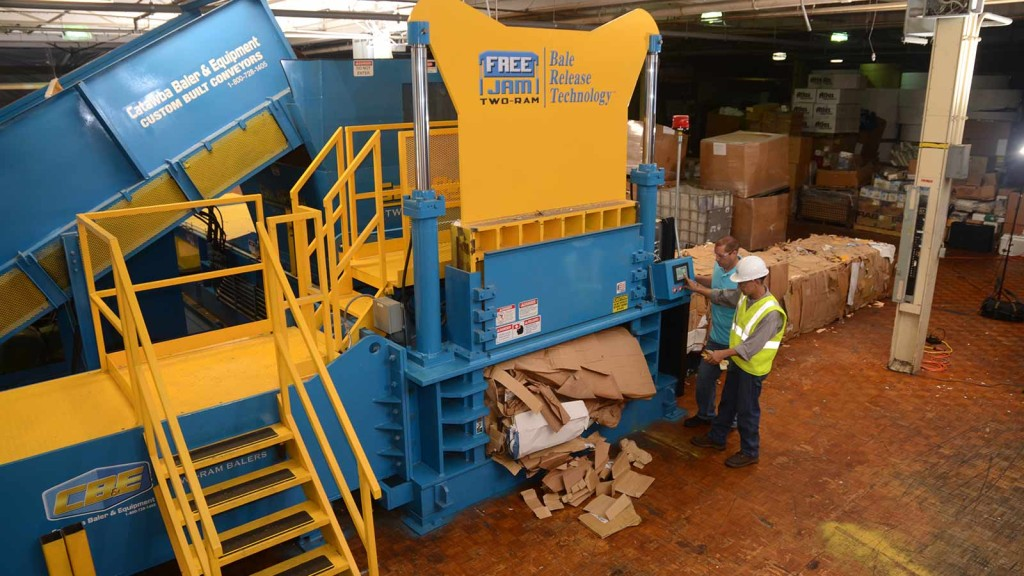 Green Life Waste Solutions Baler