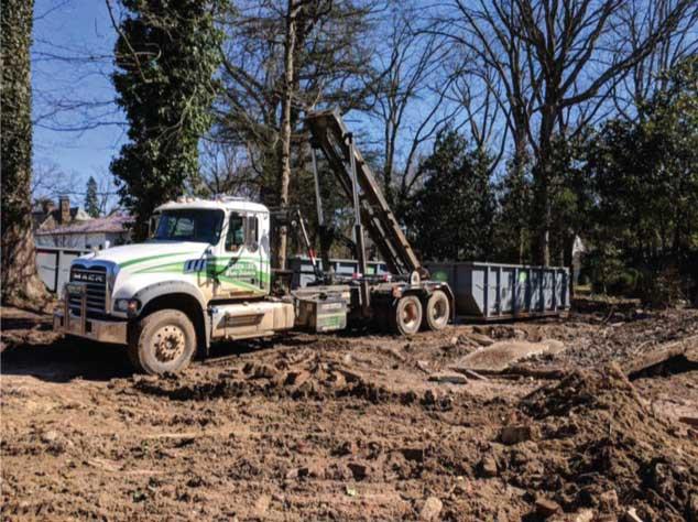 Front Loading Dumpster vs Roll off Dumpster Rental Burlington NC