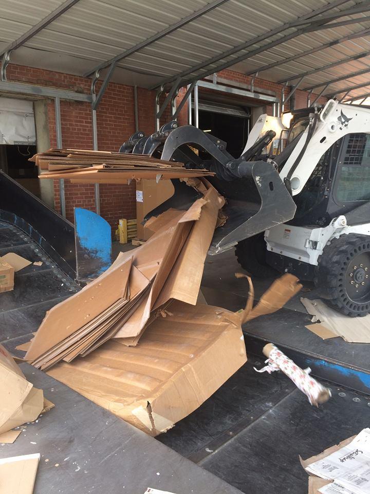 filling the dumpster rental burlington