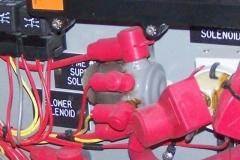 Siezed and Overheated Solenoid
