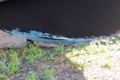 Hull Damage from Impact