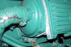 Corroded Volvo Diesel Aftercooler