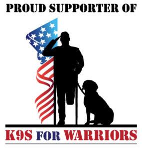 K9s For Warriors Support Logo