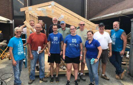 Habitat for Humanity Volunteers 2019