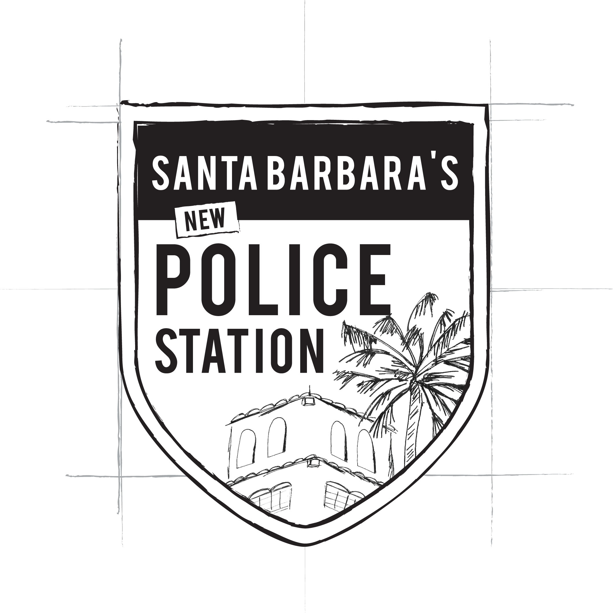 Santa Barbara's New Police Station Logo