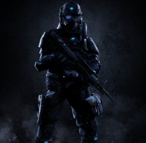 UNSC Army Soldier by Lordhayabusa357 via www.DeviantArt.com