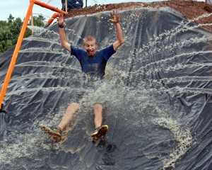 Monster Mudder, Water Slide,  Randy Cockrell