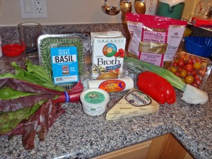 Pasta, Primavera, Ingredients