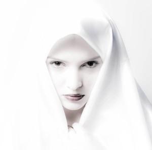 The Nun by Angelhand via www.DeviantArt.com