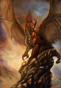 Dragon by bloodybarbarian-d3jp97t by Art of Okan via DeviantArt.com