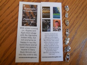 Bookmark and Charms Swag