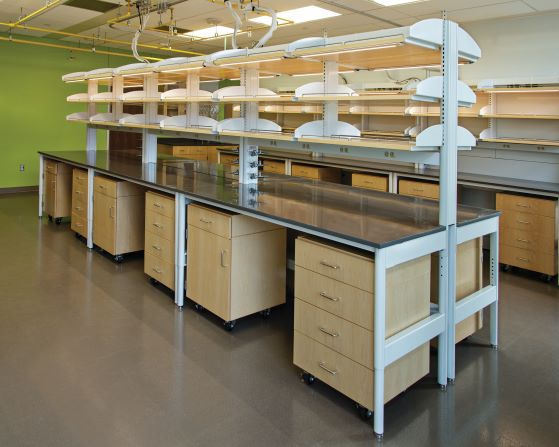 Kewaunee Enterprise Moveable Workstations.