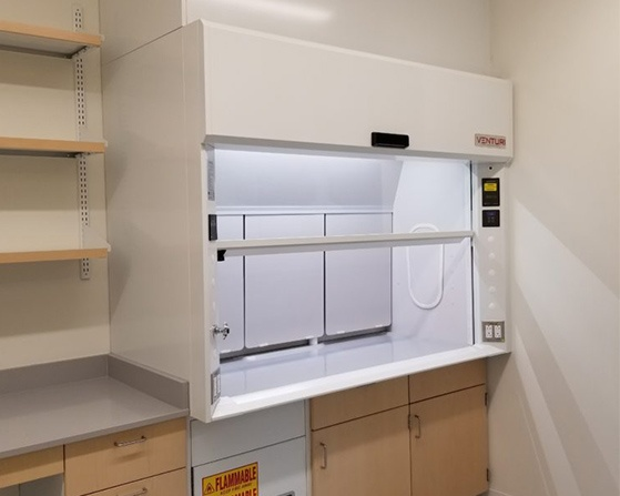 Kewaunee Scientific Venturi Air Fume Hood.