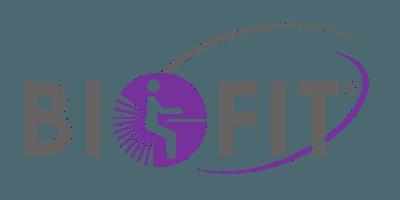 Biofit company logo.