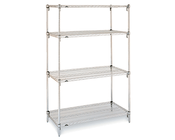 Laboratory Wire Shelving.