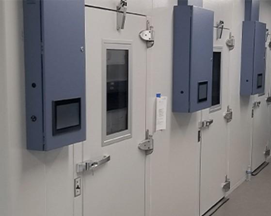 Biocold environmental room.