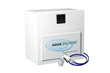 Water purification systems from Aqua Solutions.