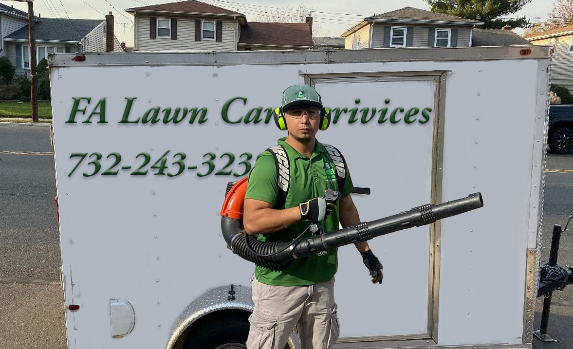 We also do lawn care services.