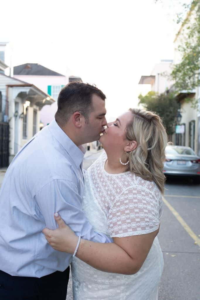 Kelsi and Jerry New Orleans Engagements