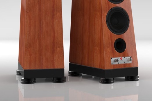 Verity Audio Adds Their Proprietary Floor Isolation System to Otello