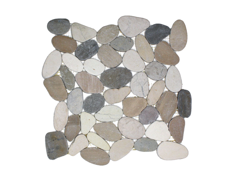 Large Format Wave Pebble Tile
