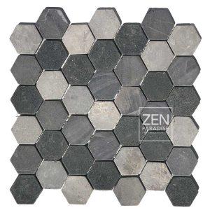 Zen Paradise Hex - Mountain Mix tile