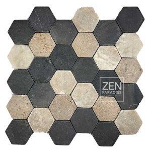 Zen Paradise Hex - Sanur Mix tile