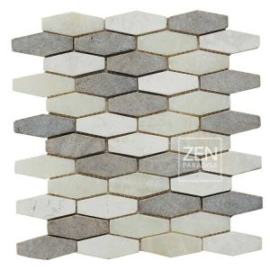 Zen Paradise Honeycomb - Beach Mix tile