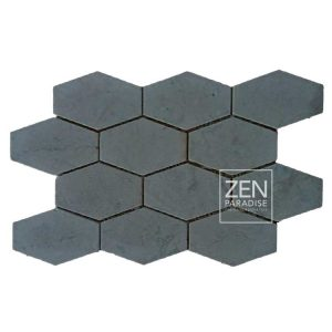 Zen Paradise XL Honeycomb -Dark Grey tile