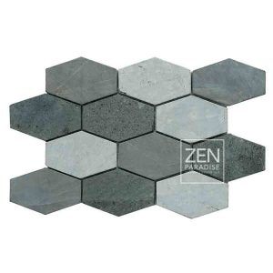 Zen Paradise XL Honeycomb - Mountain Mix tile