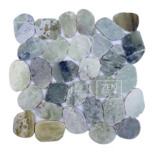 Zen Paradise XL-Wave - Seaglass tile