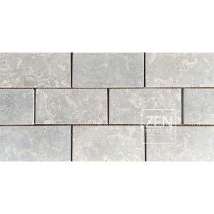 Zen Paradise 3x6 Subway Tile Light Grey Marble Tile