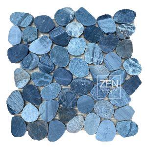 Zen Paradise Wave Pacific Blue Tile