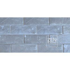 Zen Paradise 2x6 subway tile dark grey marble