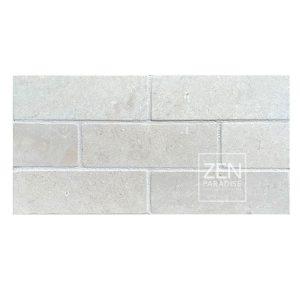 Zen Paradise 2x6 Subway White Marble - new