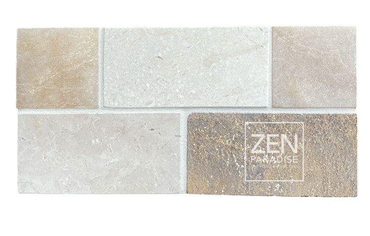 Zen Paradise 3x6 Subway Beach Mix - new